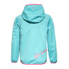 Cube Softshelljacke Juniors turquoise'n'pink